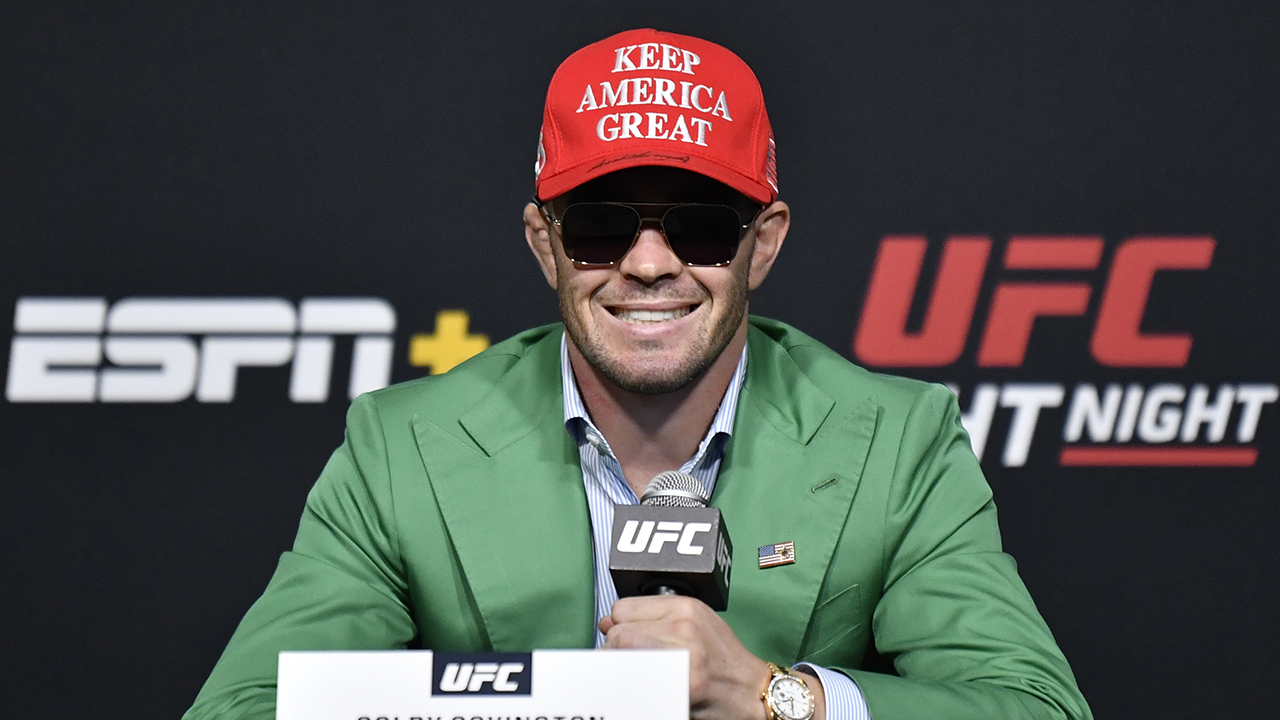 UFC star Colby Covington rips into LeBron James, sarcastically congratulates star on NBA title win -