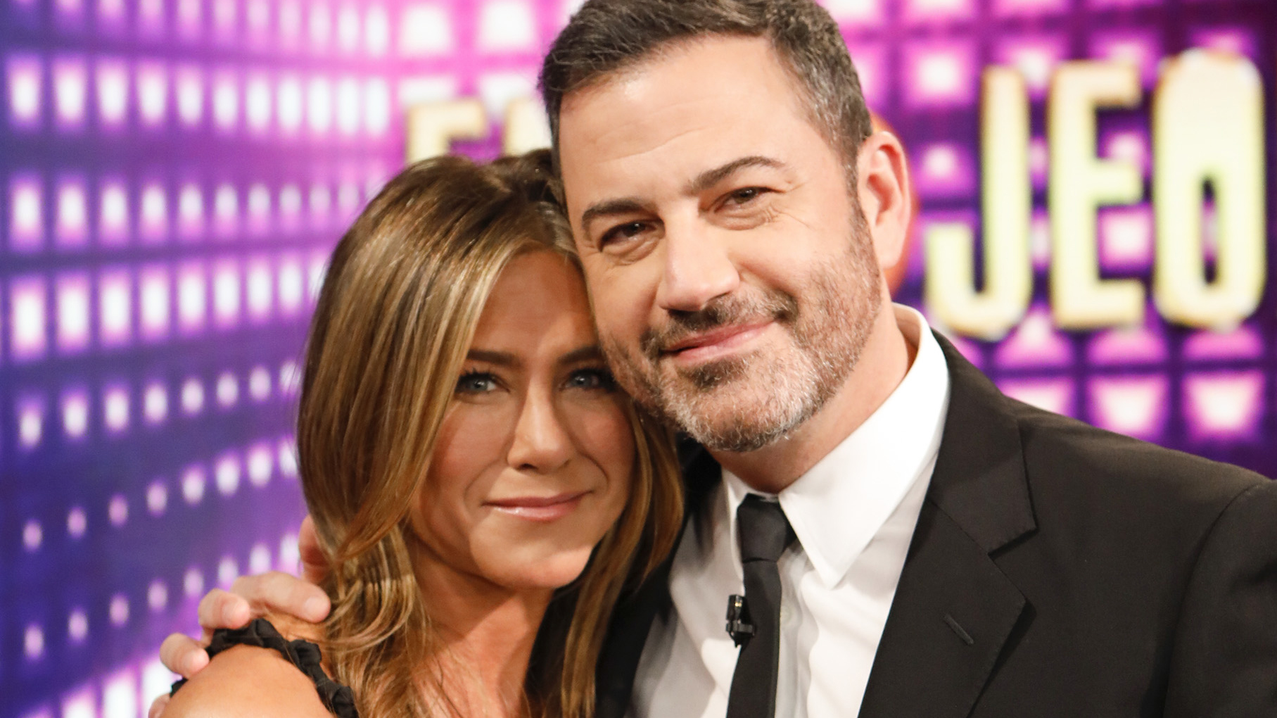 Jennifer Aniston, Jimmy Kimmel face fire scare on stage at 2020 Emmy Awards - fox