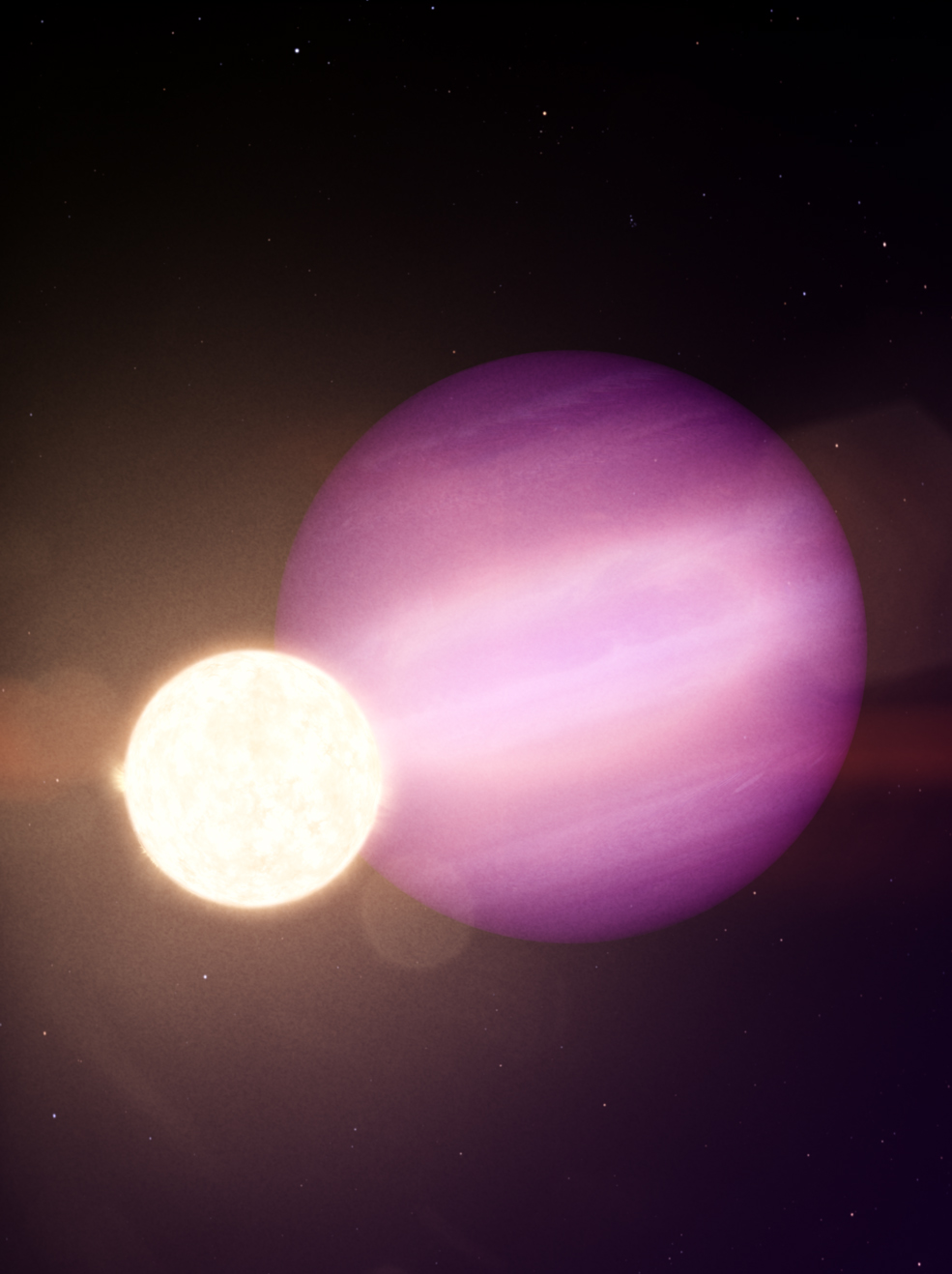 NASA spots first possible 'survivor' planet hugging a white dwarf star