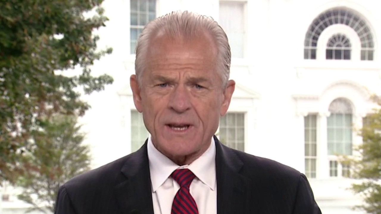 Navarro blames Pelosi for stalled negotiations on next...