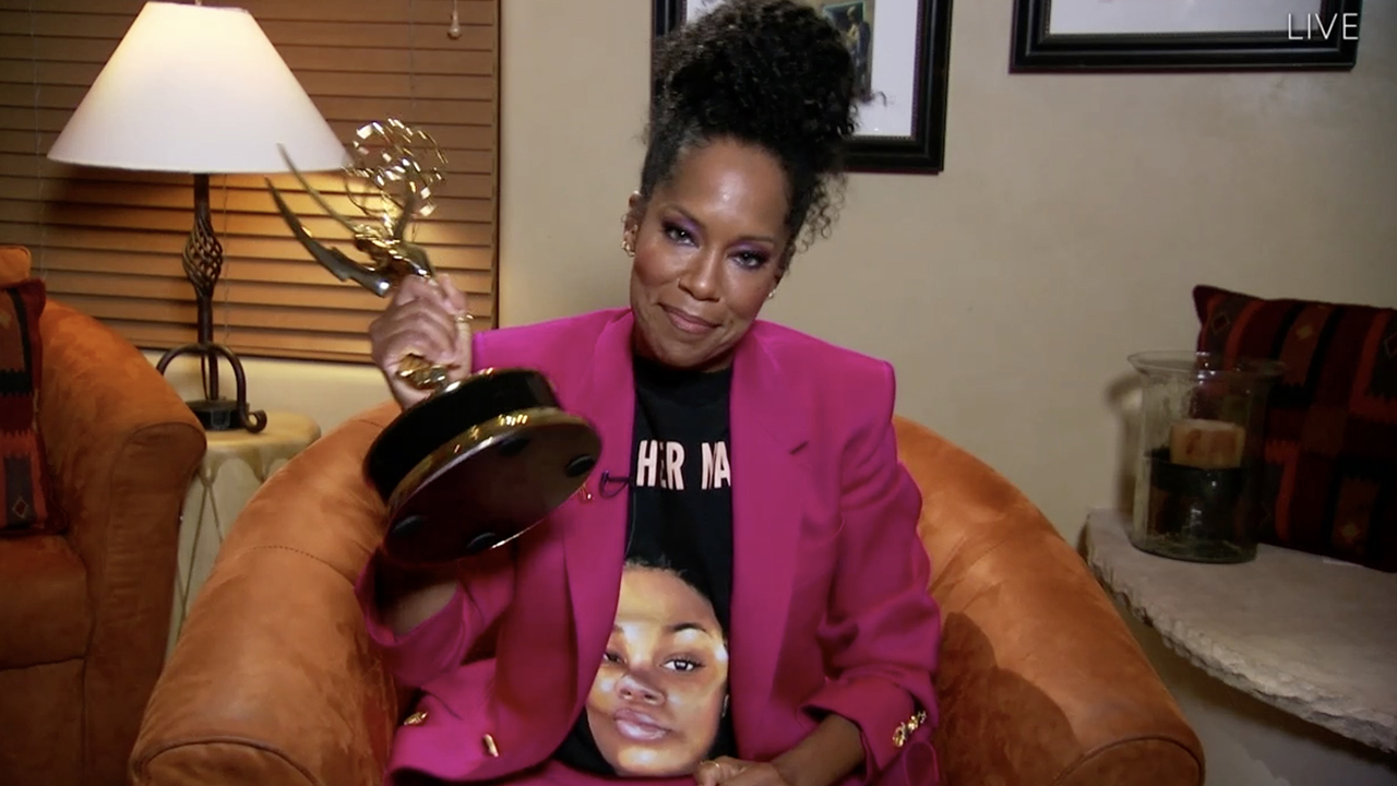 Regina King on wearing Breonna Taylor shirt at 2020 Emmys: 'The cops still haven't been held accountable'