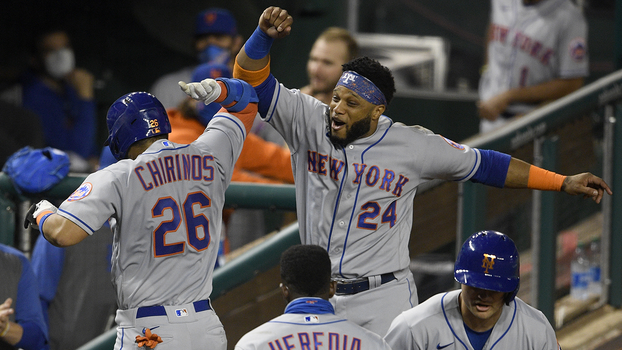 Chirinos homers as Mets maintain playoff hopes, top Nats 3-2 - fox