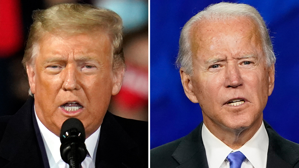 Trump claims Biden has 'tremendous advantage' in first presidential debate
