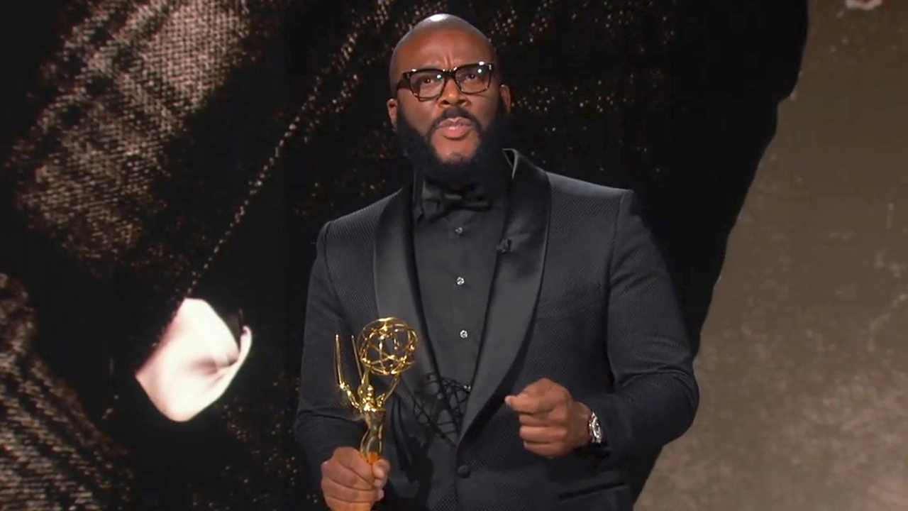 Tyler Perry celebrates diversity in Governors Award acceptance speech at 2020 Emmys