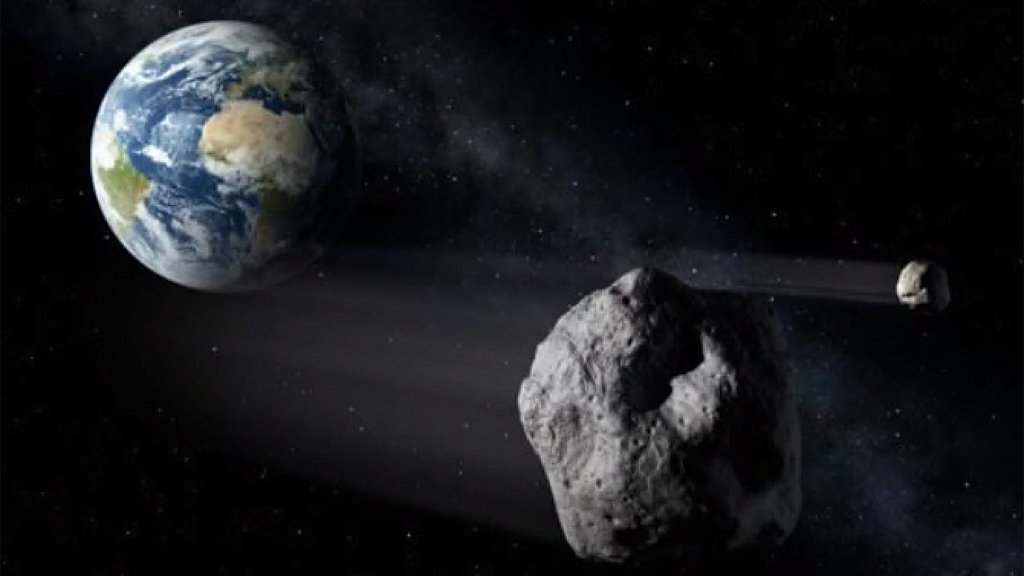 3 asteroids, including one bigger than the Washington Monument, to fly past Earth on Christmas Day