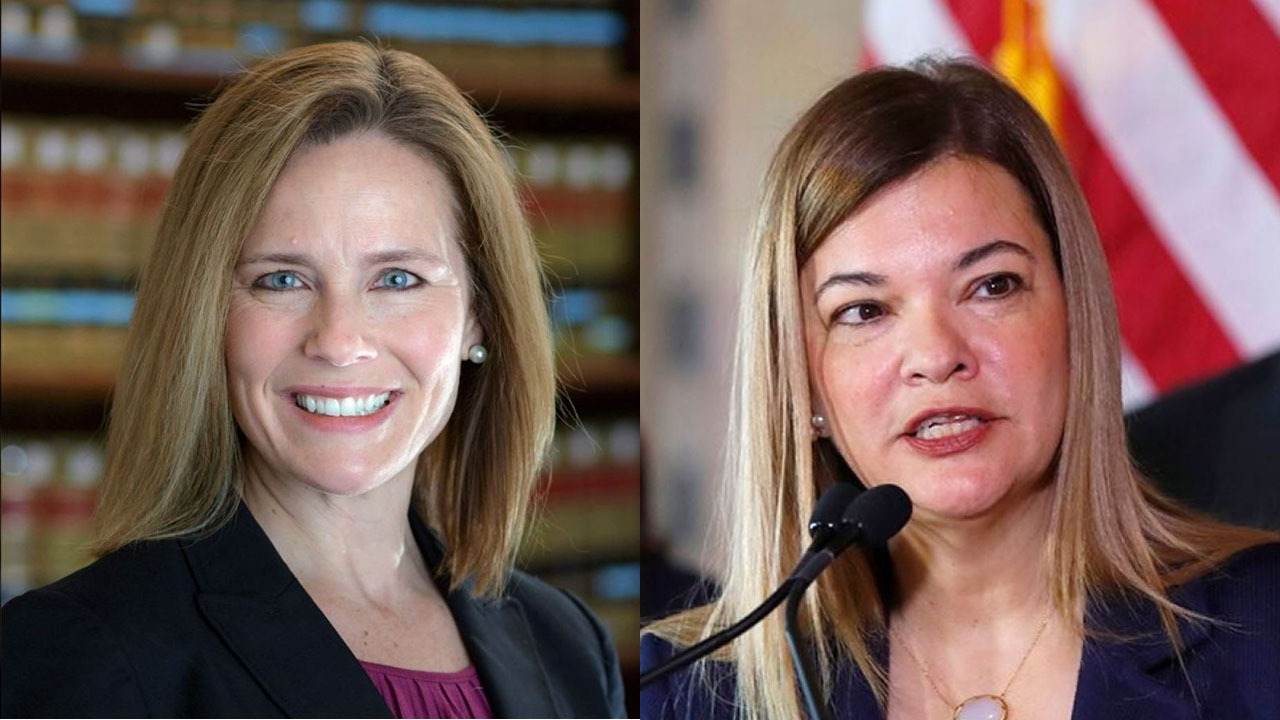 Trump's Supreme Court court pick likely to be Amy Coney Barrett or Barbara Lagoa: reports