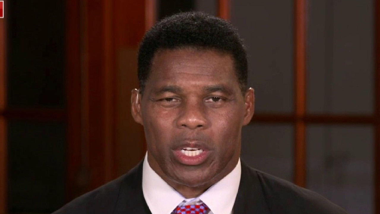 Herschel Walker accuses Democrats of denouncing violence