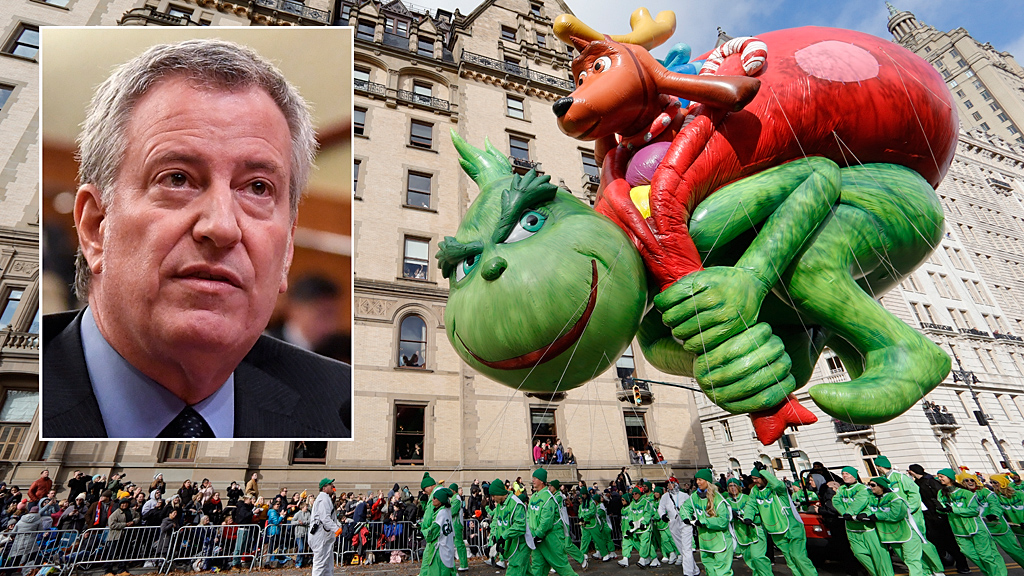 Macy's Thanksgiving Day Parade will be TV-only event, without live pro... image