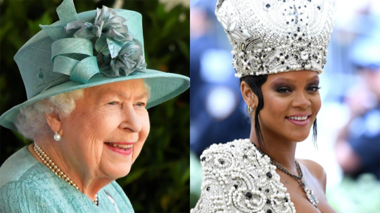Image Rihanna fans 'nominate' her to replace Queen Elizabeth II as Barbados' head of state