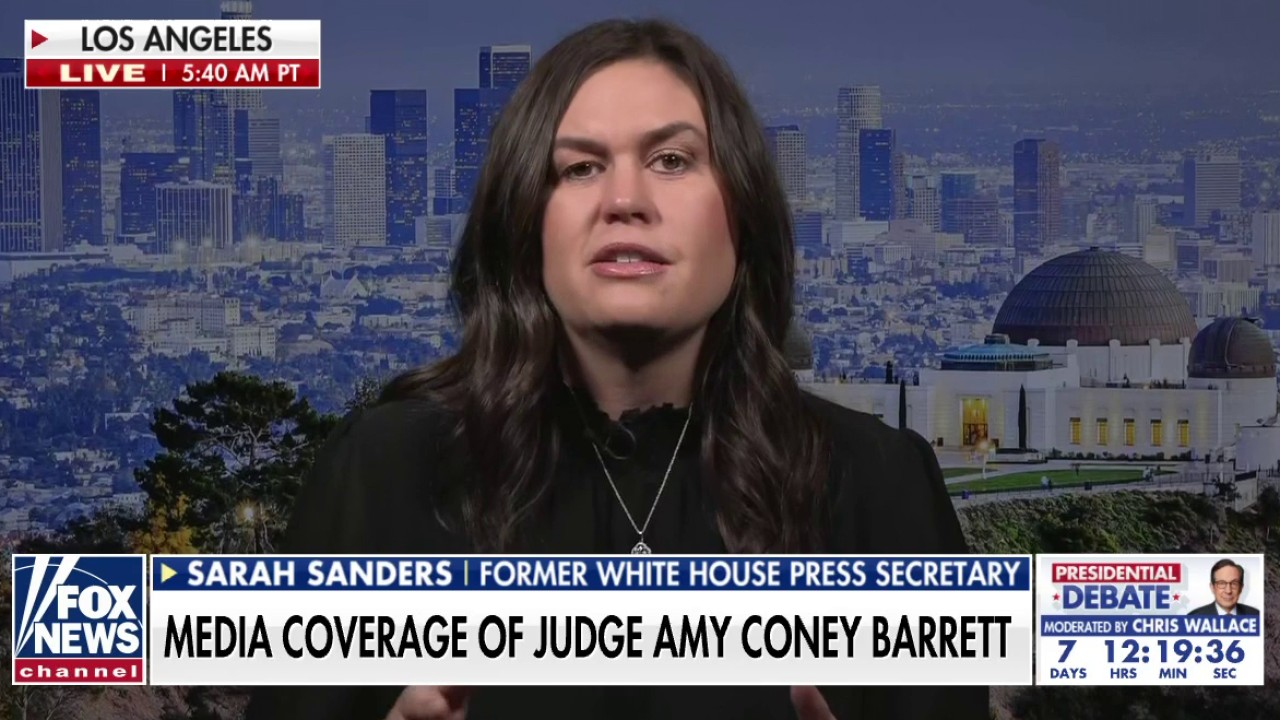 Dems' 'disgraceful' attacks on Amy Coney Barrett show what they think about women, Christians: Sarah Sanders