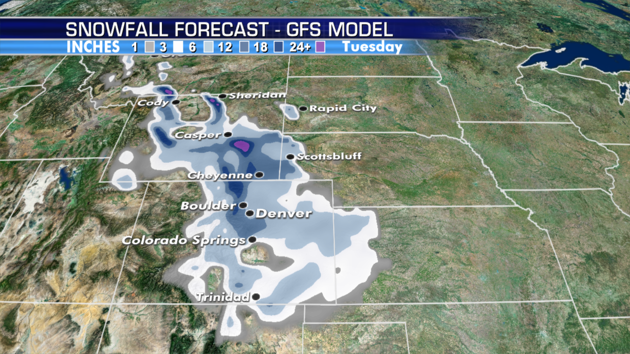 September snow in forecast for Denver after 100-degree Labor Day weekend heatwave – Fox News