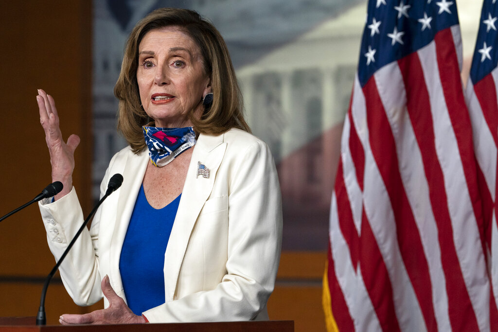 Pelosi: All Trump wanted in coronavirus relief negotiations was 'to send out a check with his name on it' – Fox News