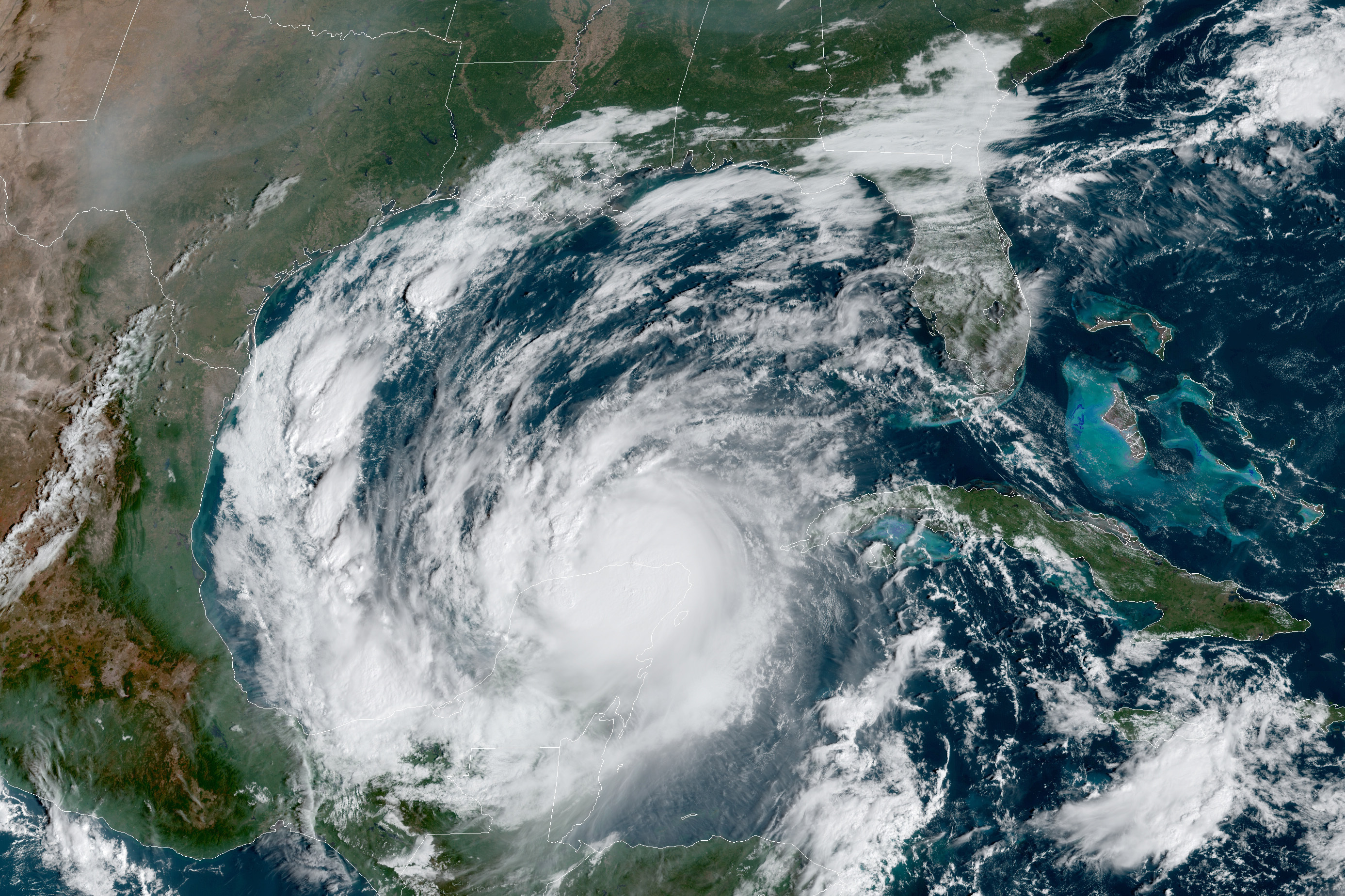 Hurricane Delta strengthens into Category 2, 'life-threatening' storm surge expected thumbnail