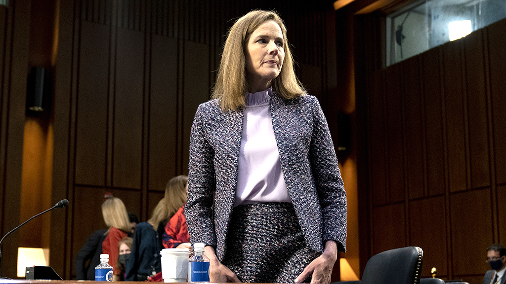 The Senate will gavel in a rare Saturday session this afternoon to debate confirming Judge Amy Coney Barrett to the Supreme Court.