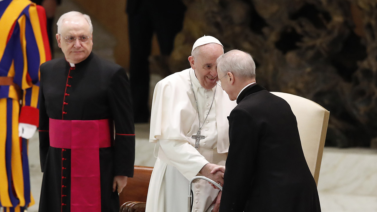 Pope Francis blames 'this lady called COVID' for distance from faithful