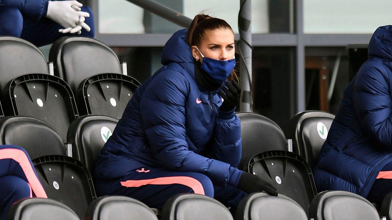Alex Morgan háo hức bắt đầu với Tottenham Hotspur, đối phó với vấn đề đầu gối