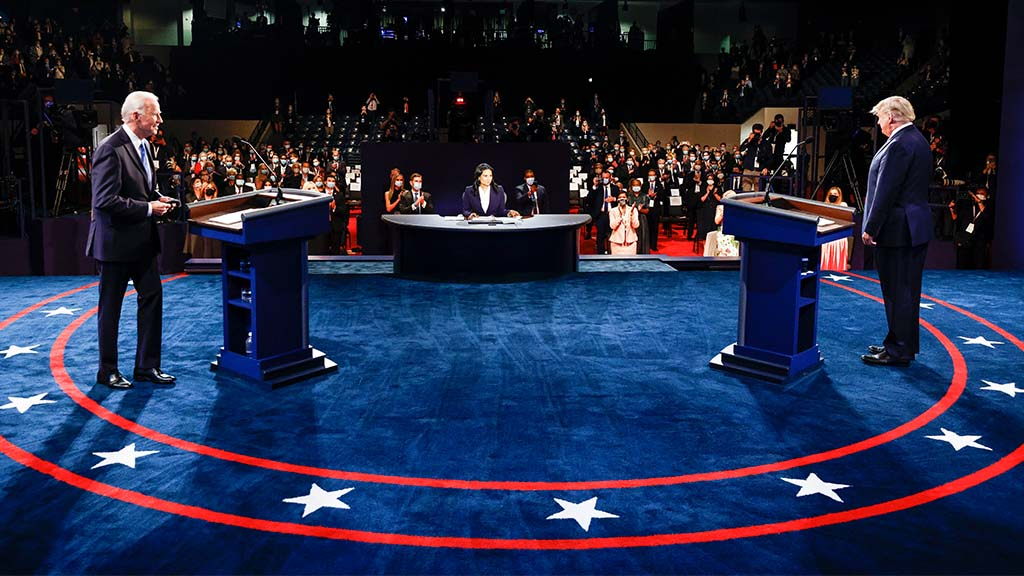 Trump heads to Florida as Biden stumps in Delaware following final presidential debate