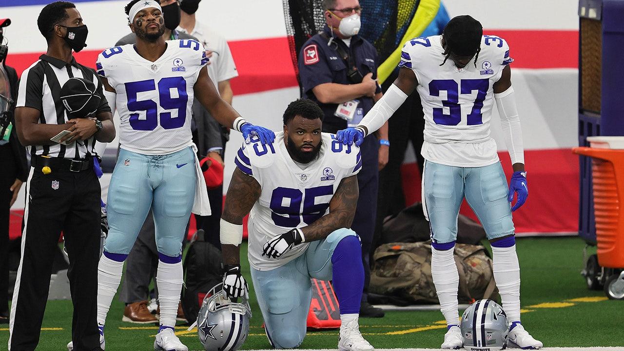 Jerry Jones: Cowboys cut Dontari Poe over weight and performance not national anthem kneeling – Fox News