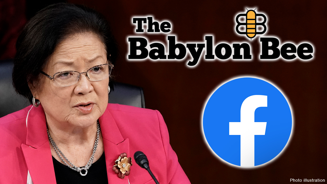 Facebook apologizes for removing Babylon Bee satire mocking Sen. Hirono, says it was a