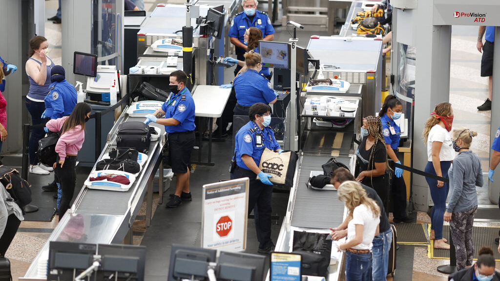 TSA screens 1 million passengers in a single day marking busiest travel day since March – Fox News