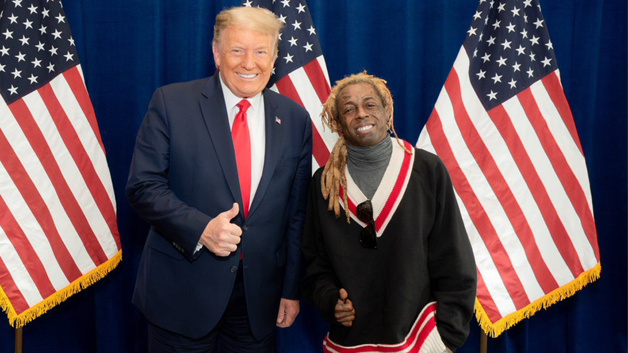 Rapper Lil Wayne meets with Trump: 'He listened to what we had to say'