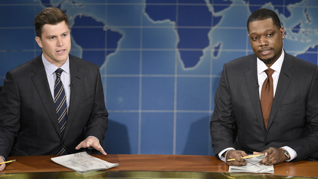 This week's 'SNL' mocked NBC during its 'Weekend Update' segment and took further aim at President Trump.