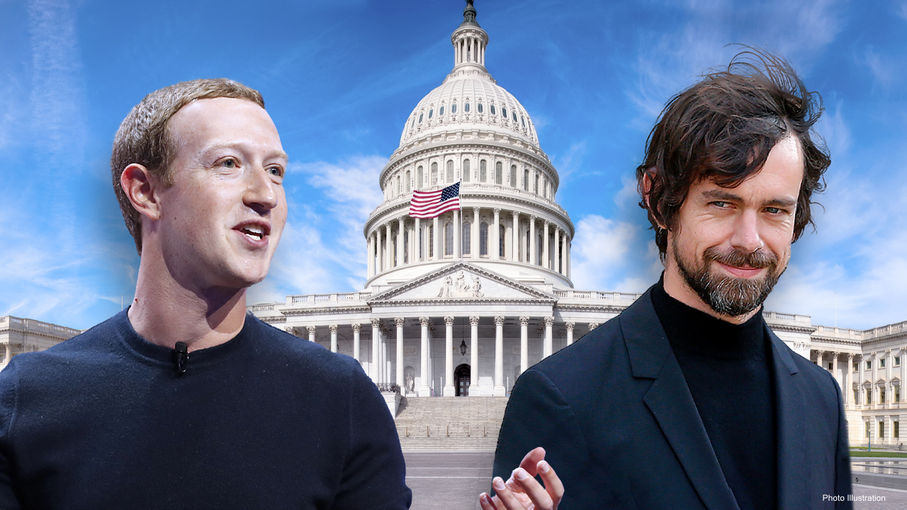 Google, Facebook and Twitter CEOs head to Capitol Hill for grilling over censorship - fox
