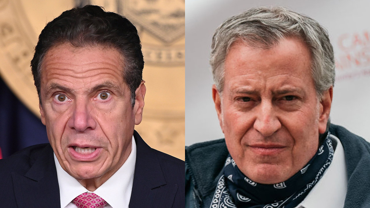 De Blasio pounces on Cuomo scandals: 'He cannot govern' if claims are true