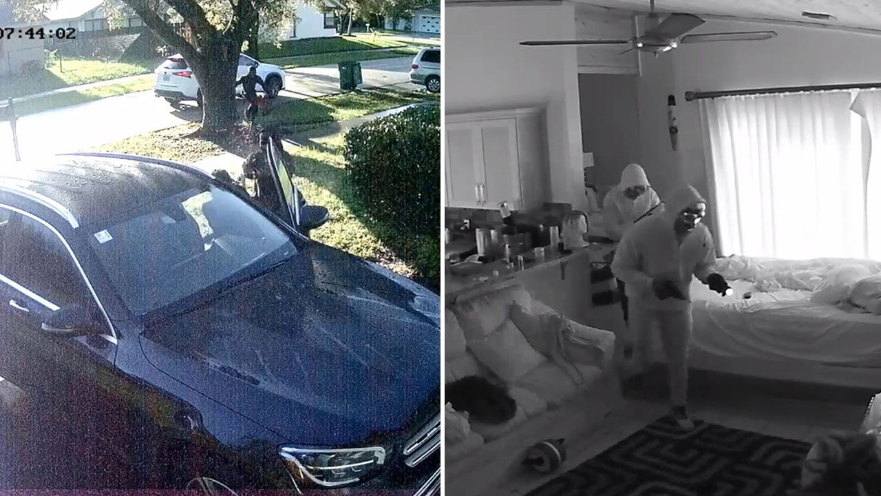 Florida woman ambushed at gunpoint, tied up in home invasion caught on video