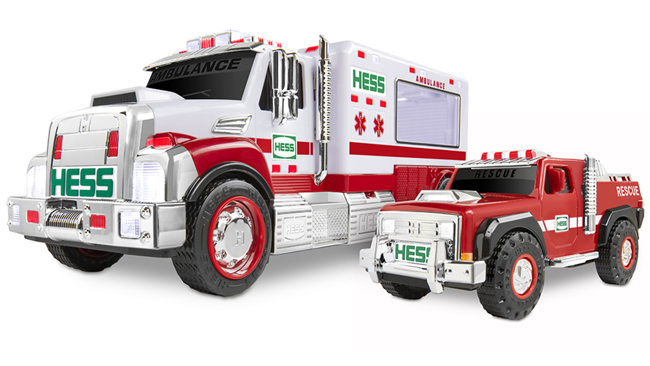 2020 Hess holiday truck honors first responders - fox