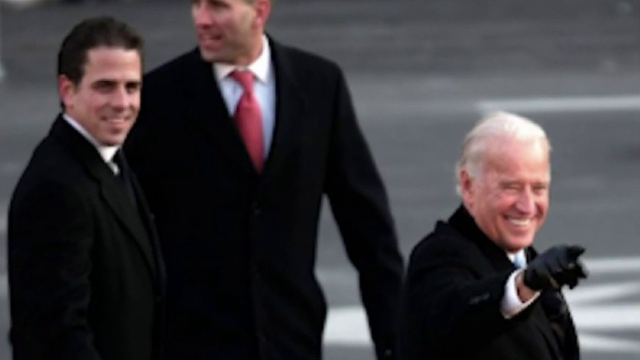 Eric Trump accuses Biden of 'hiding from one of the biggest scandals in American history'