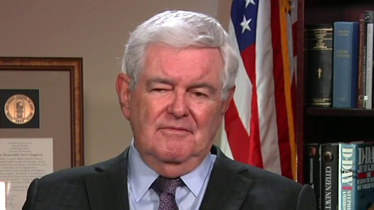 Newt Gingrich denies Georgia is in play for Biden, insists 'the polls are wrong'
