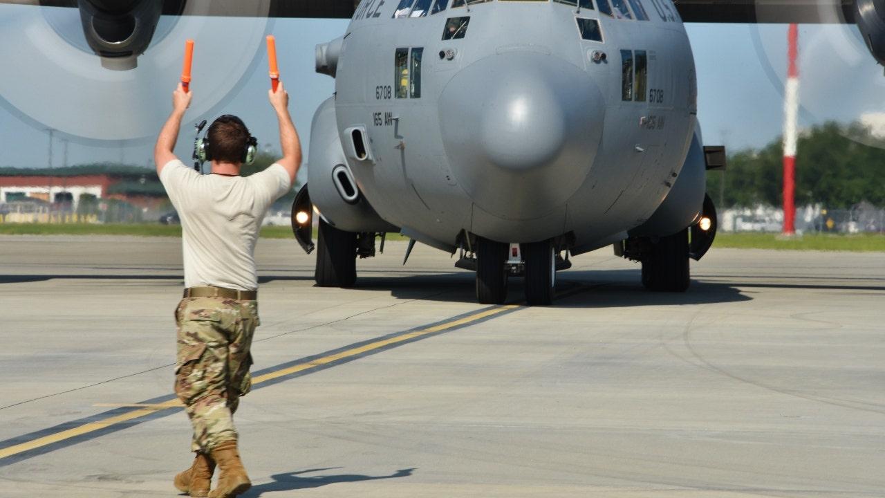 Top Democrat accuses Air Force of favoring Georgia...
