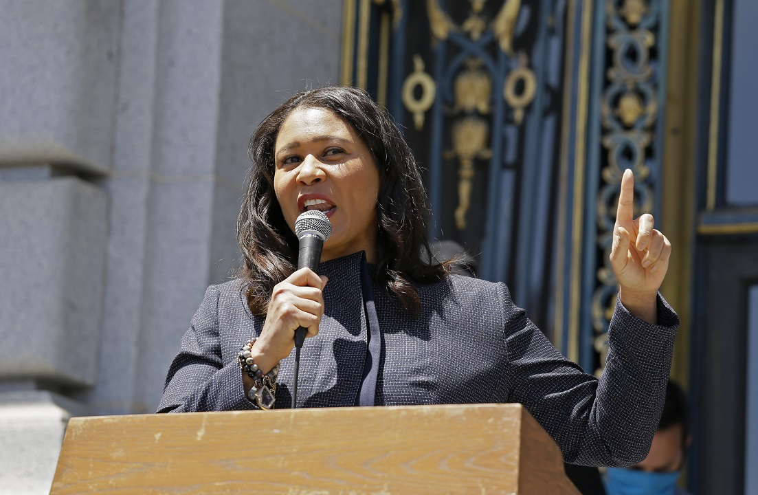 San Francisco Mayor London Breed: report