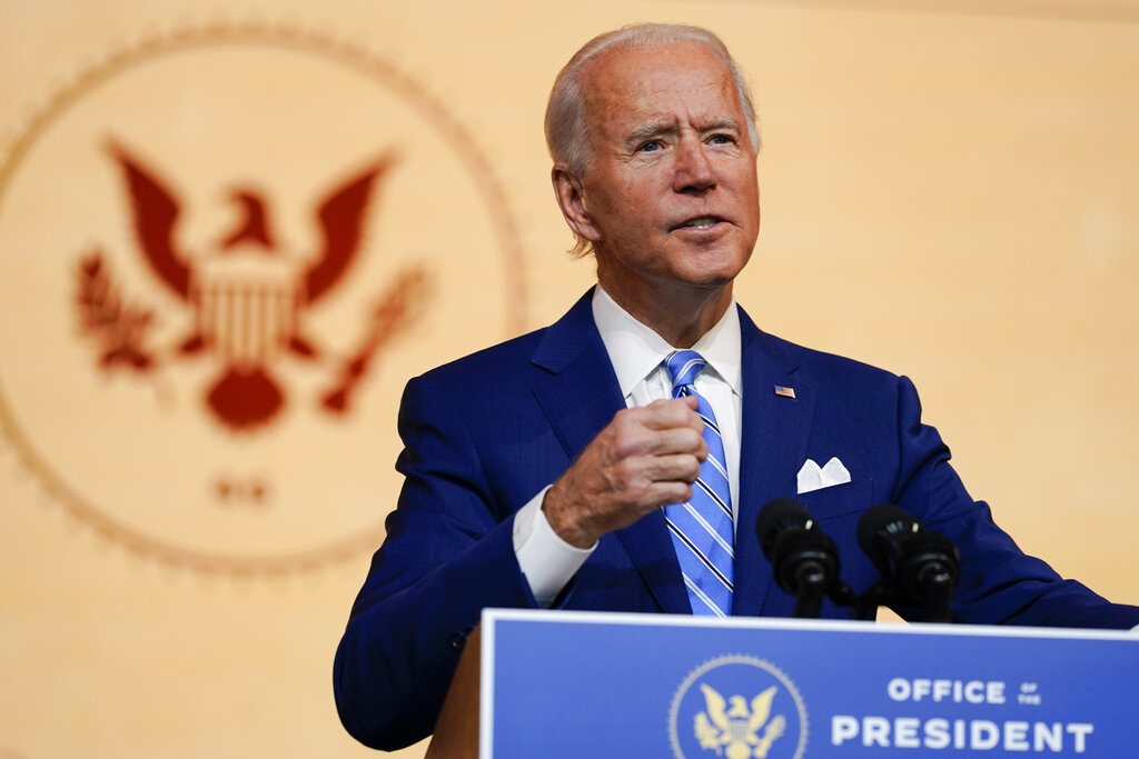 Biden says family will have