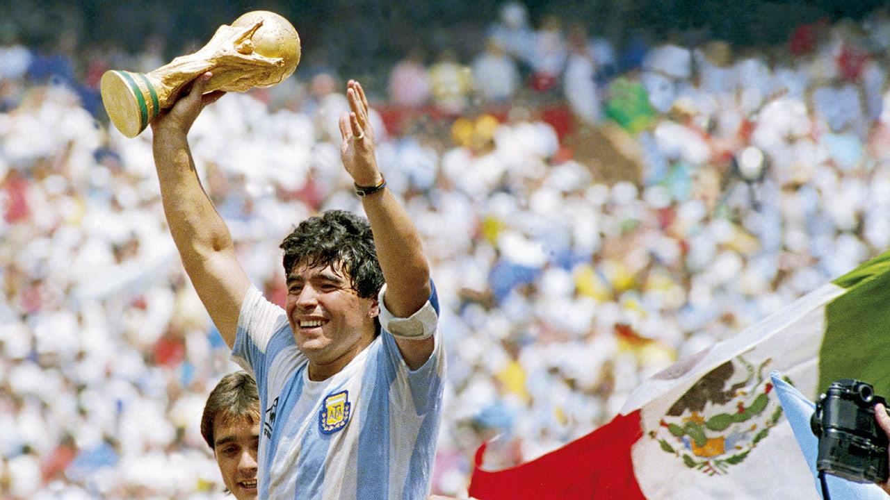 Argentine soccer legend Diego Maradona dead at 60
