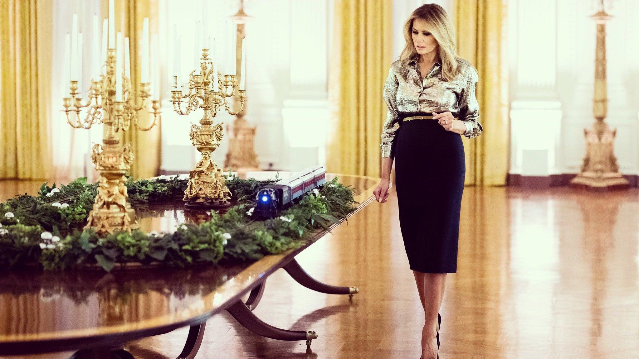 Melania Trump unveils White House Christmas decorations theme for 2020 – Fox News