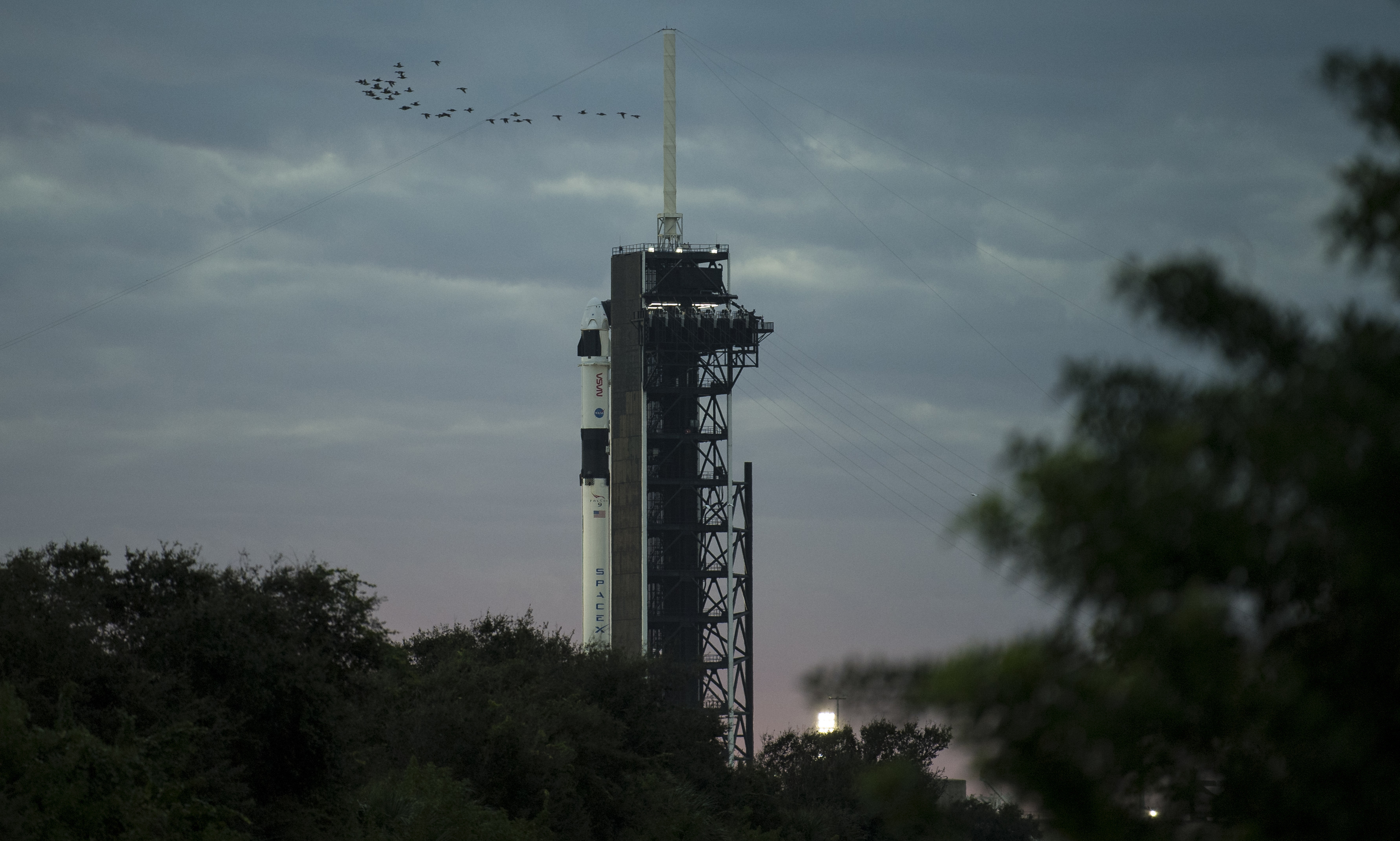 SpaceX resupply mission to ISS rescheduled for Sunday due to poor weather
