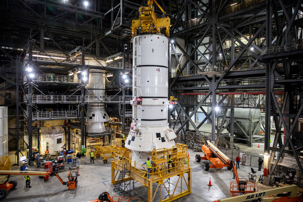 NASA has started assembling the Artemis Space Launch System (SLS), marking an important milestone ahead of future missions to the moon.
