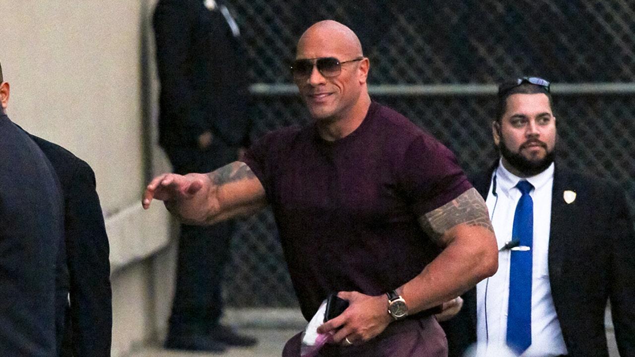 Local Alabama cop is Dwayne 'The Rock' Johnson's look-alike: 'I'll play along'