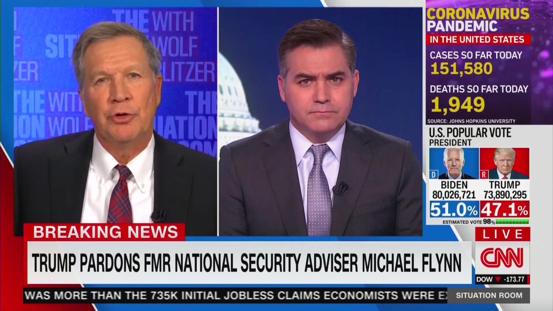Kasich shrugs off CNN uproar about Michael Flynn pardon during clash with Jim Acosta: 'Let's move on' – Fox News