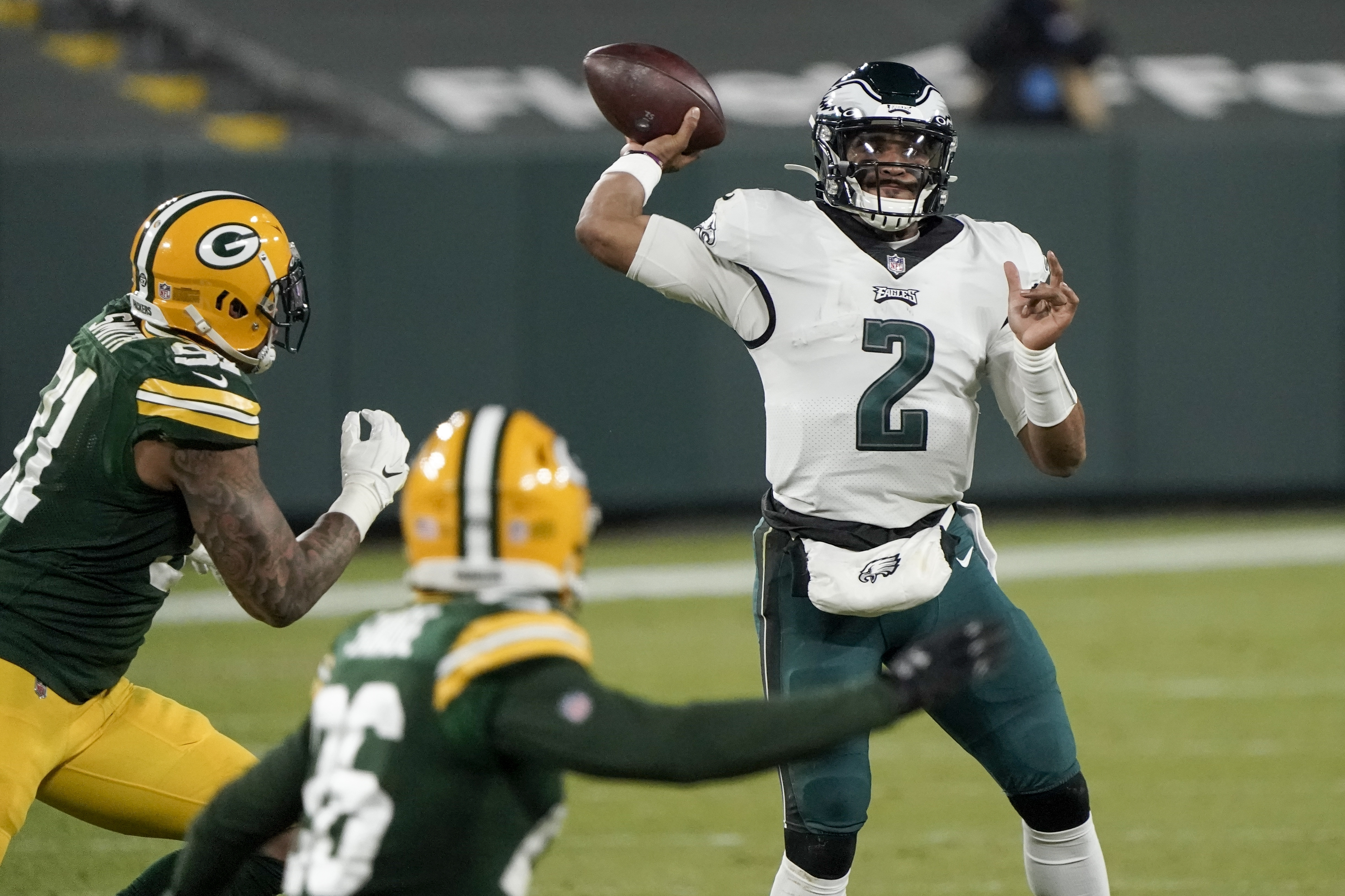 Eagles quarterback situation hazy after Carson Wentz benched for Jalen Hurts – Fox News