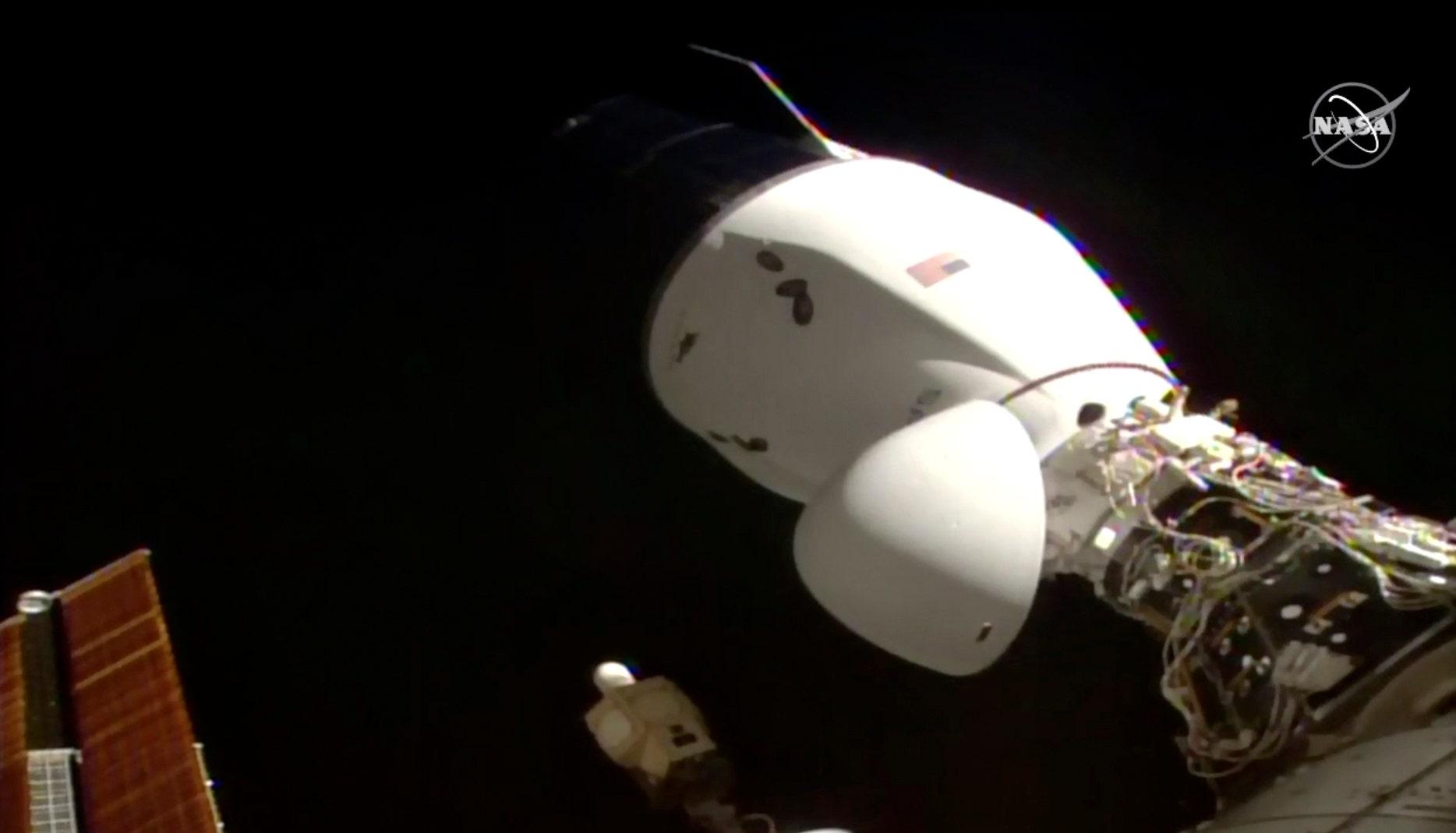 SpaceX Dragon 2 cargo ship docks on International Space Station – Fox News