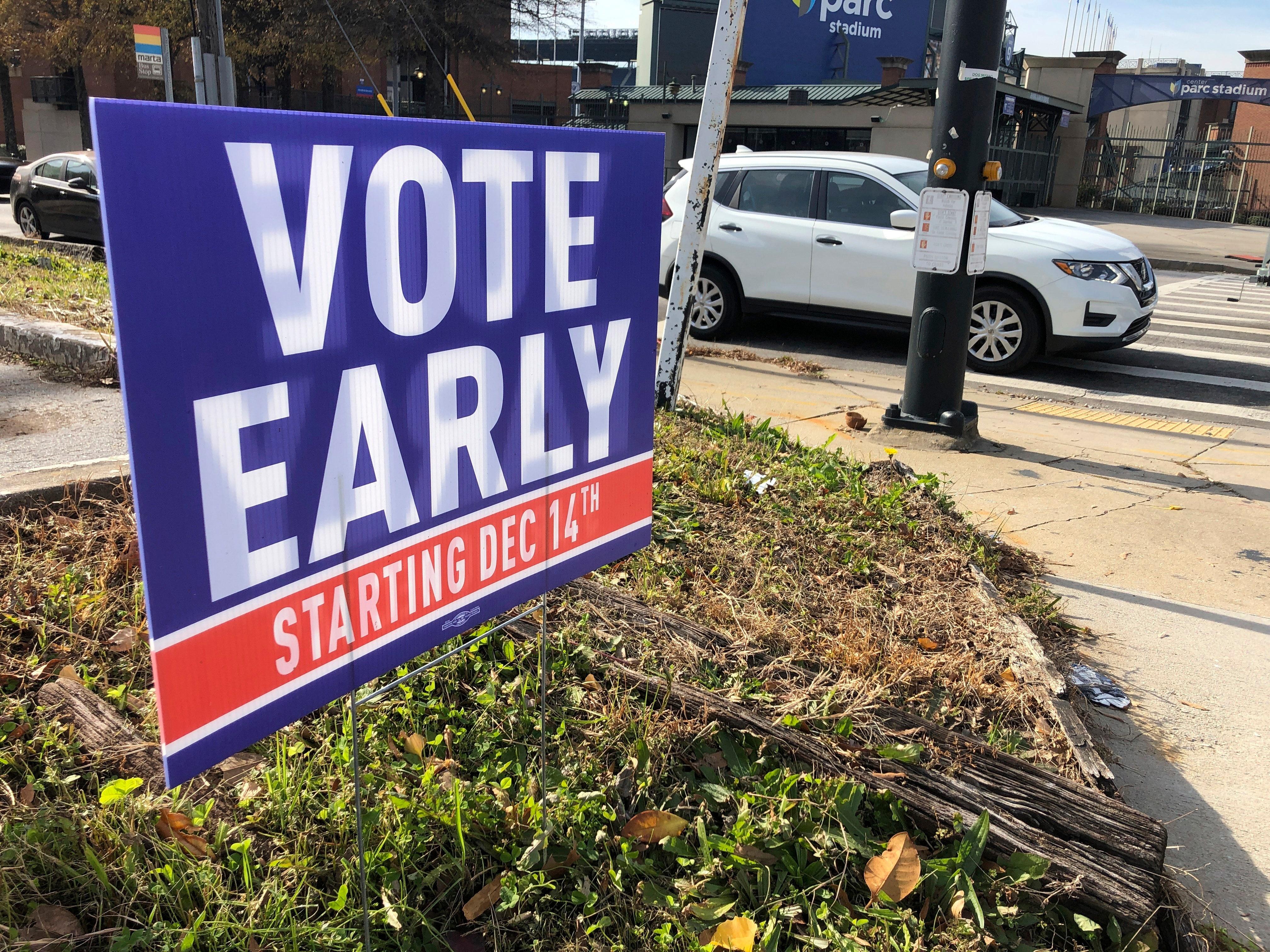 LIVE UPDATES: Georgia Senate runoffs see more than 1 million ballots already cast