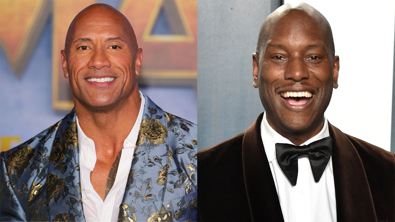 Dwayne `The Rock` Johnson and Tyrese Gibson`s feud...