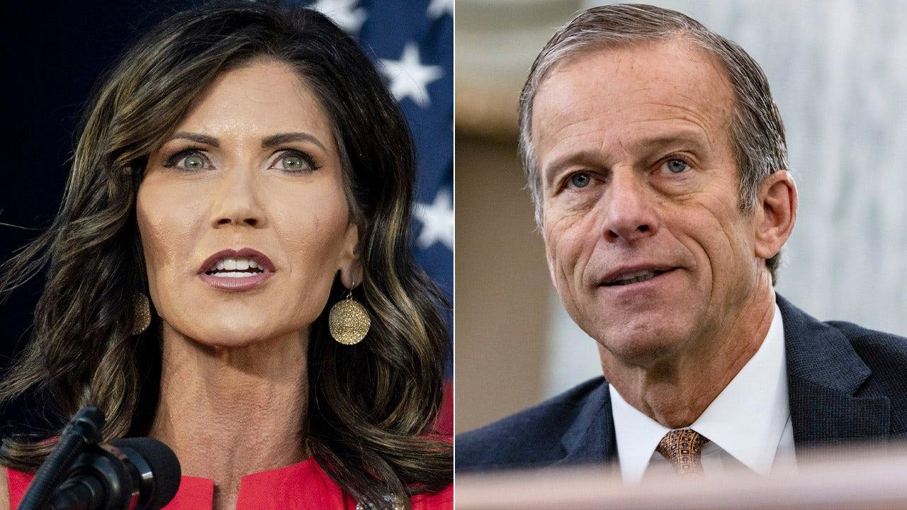 President Trump says South Dakota Gov. Kristi Noem should challenge 'RINO' Sen. John Thune in 2022