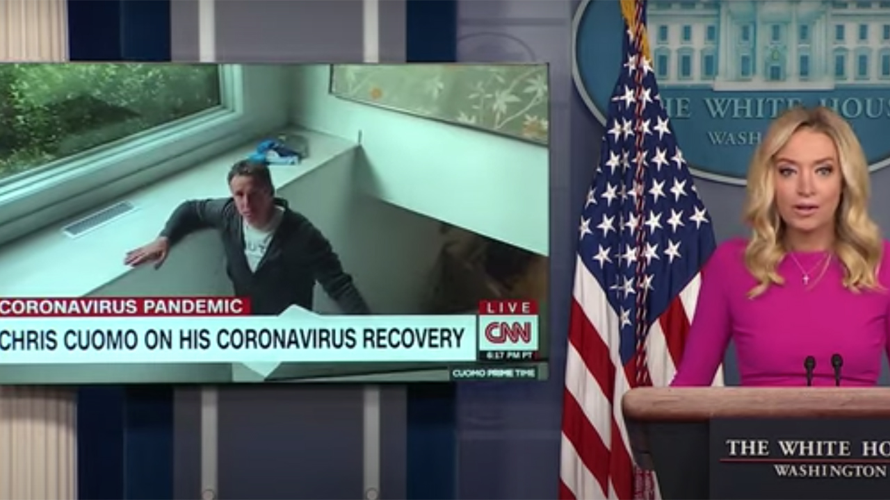 McEnany calls out CNN`s Chris Cuomo, Democrat leaders...