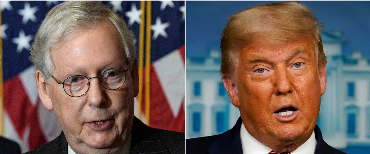 McConnell rips Trump, says actions 'unconscionable' but trial was unconstitutional