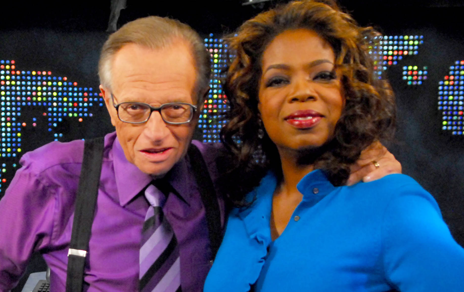 PHOTOS: Larry King with celebrities over the years - fox