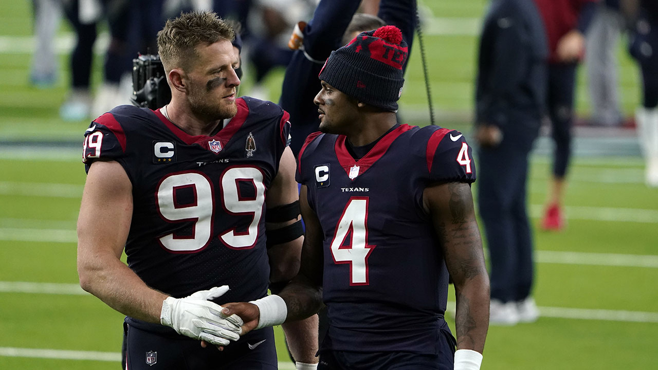 Cardinals' JJ Watt reveals the 'one thing' he wants for Texans' Deshaun Watson - Fox News